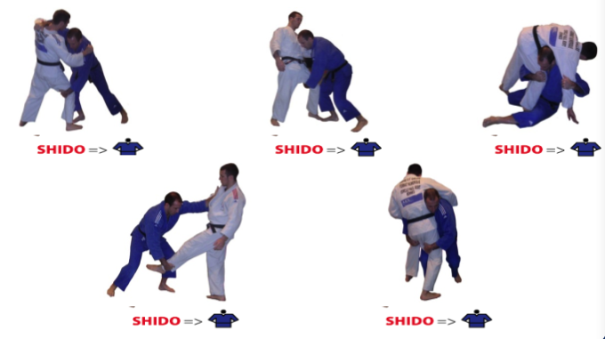 The Ground Never Misses: Forbidden Techniques in Judo