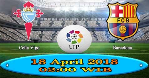 Prediksi Bola855 Celta Vigo vs Barcelona 18 April 2018