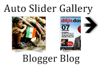 Auto Slider Gallery Just Above Your Blogger Blog Posts