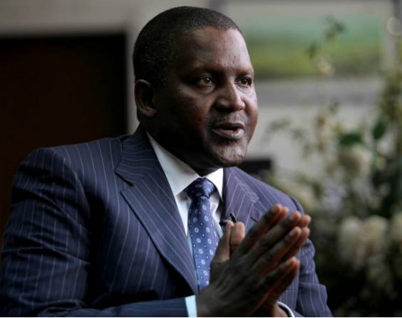 Dangote: I am not PDP candidate in 2019