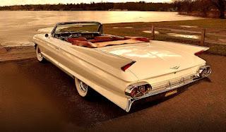 1961 Cadillac DeVille Convertible Rear Left
