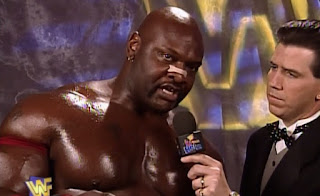 WWE / WWF - In Your House 15: A Cold Day in Hell - Ahmed Johnson interviewed by Todd Pettengill