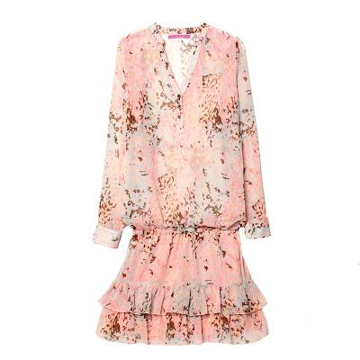 Vestido rosa Venca