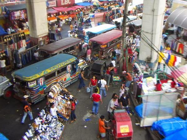Cebu jest bardzo zatłoczonym miastem