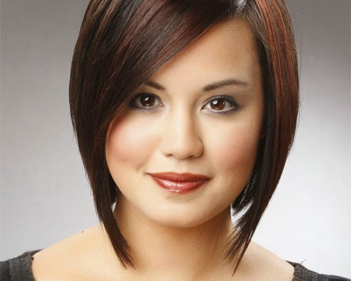 Looks Elegant And Fresh Short Haircuts For Thick Straight