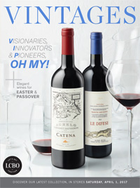LCBO Wine Picks from April 1, 2017 VINTAGES Release