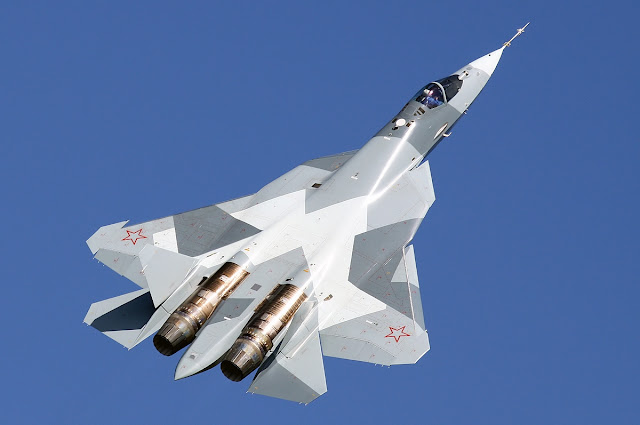 Sukhoi T-50 PAK-FA of Russian Air Force
