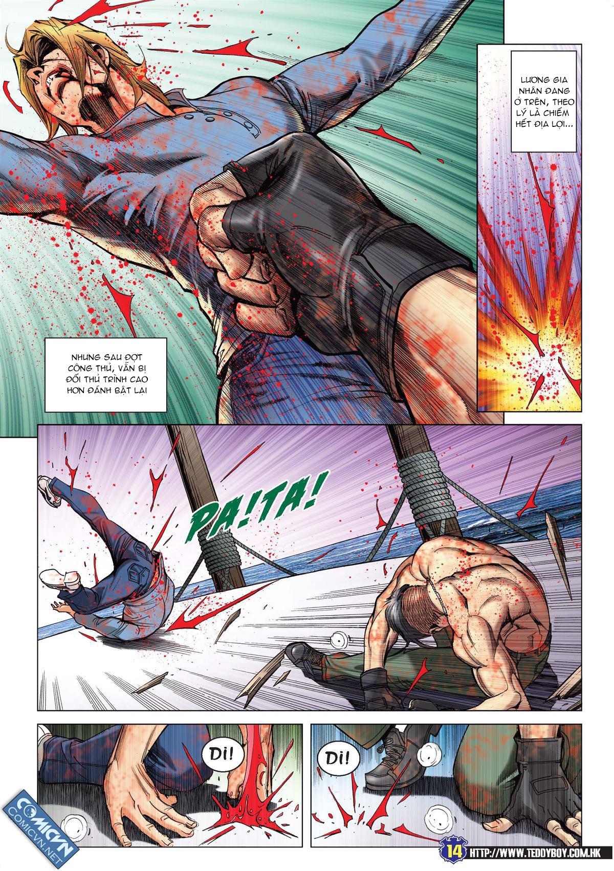 Người Trong Giang Hồ chapter 2138: thắng hết khí thế thua vì đen trang 11