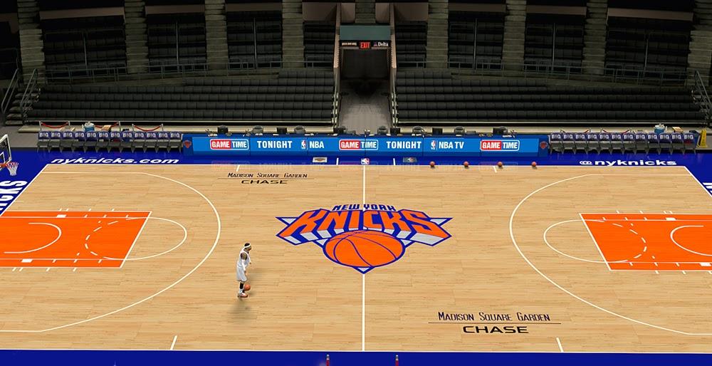 Brown Color Hd Wallpaper Nba 2k14 New York Knicks Court V2 Hd Texture Mod Nba2k Org