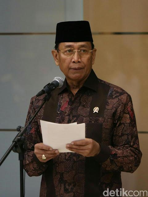 Wiranto Pastikan Polri Terus Memproses Kasus Dugaan Penistaan Agama oleh Ahok