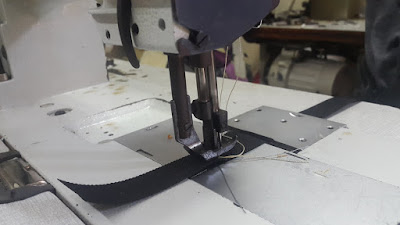 mesin double stitch
