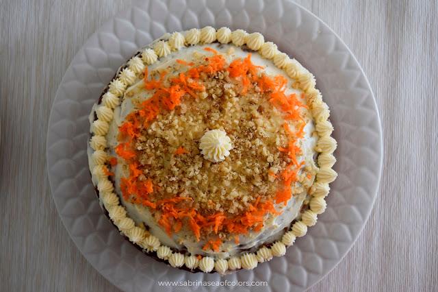 Pastel integral de zanahoria. Carrot Cake