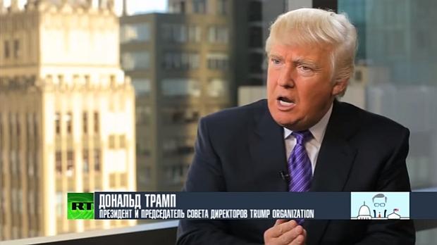 О чём говорит Дональд Трамп (интервью)