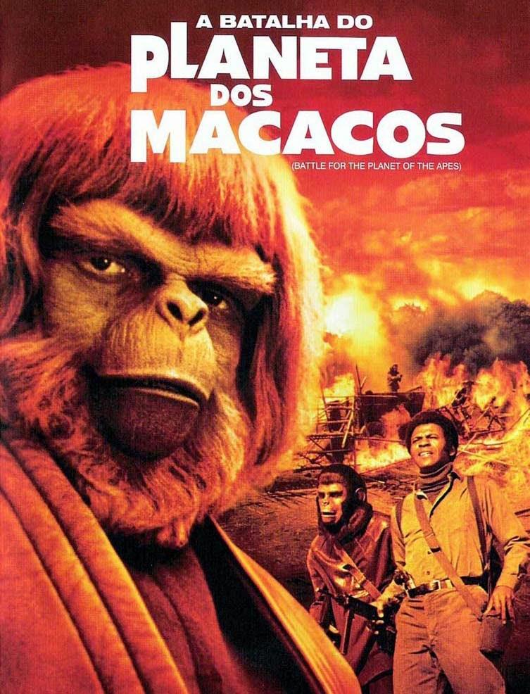 A Batalha do Planeta dos Macacos – Dublado (1973)
