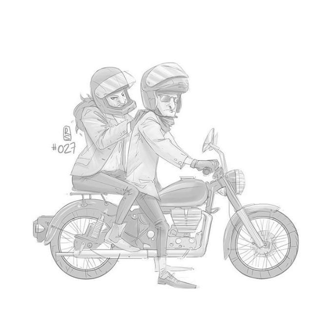 365 everyday sketch de Ruslan Suleimanov
