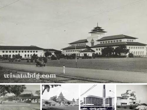 Bangunan bersejarah terkenal di Bandung
