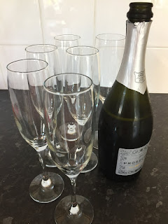 Prosecco for catalogue launch party, open house event