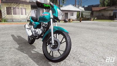 Download mod moto CG 99 160 para GTA San Andreas, GTA SA Jogo PC
