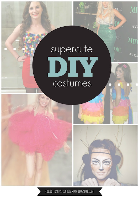 How To Make Super-cute Halloween Costumes: Loofah, Mermaid, Deer, Pinata & Gumball Machine