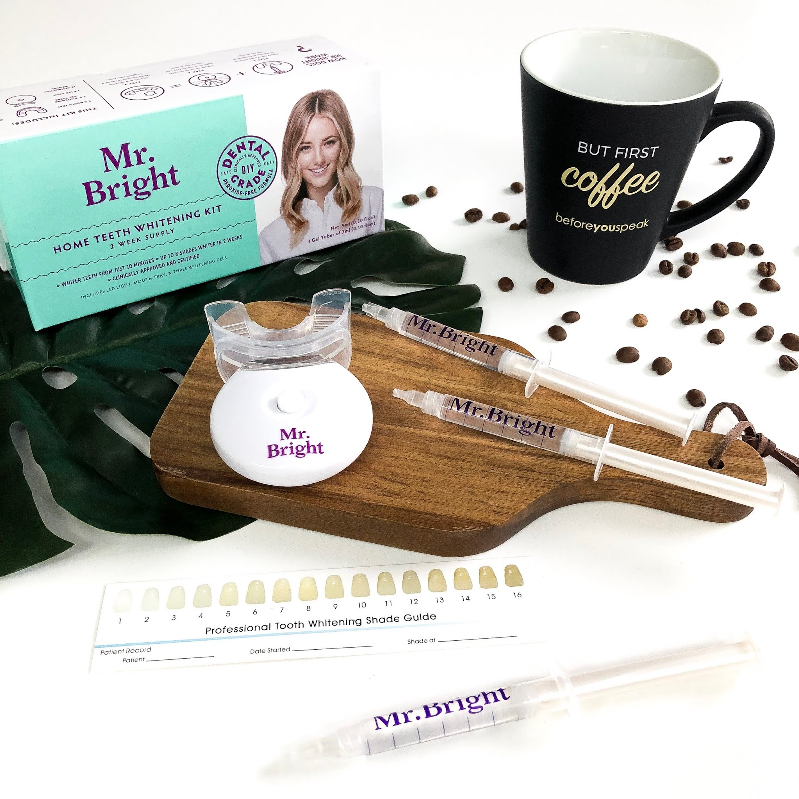 Product Review Mr Bright Home Teeth Whitening Kit The Beauty