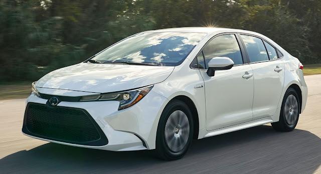 Hybrids, LA Auto Show, Toyota, Toyota Corolla
