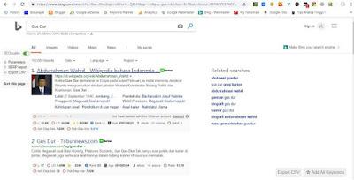 Hasil Pencarian Bing