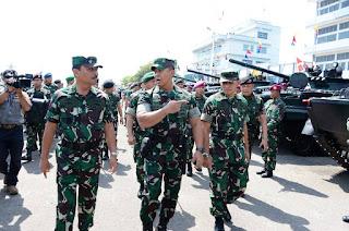 Latihan Gabungan (Latgab) TNI tahun 2019