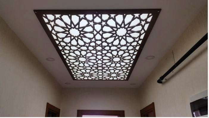 Ceiling Design In Your Interior Home Or Office So You Can Choose This Contemporary Of Cnc False With Stylish Lighting Ideas