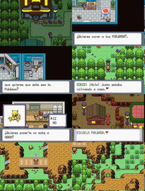 Pokemon Verde Hierba
