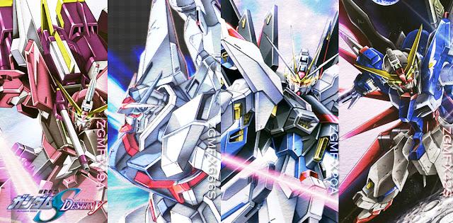 Gundam Seed Mobile Suits Gundam SEED Destiny HD...