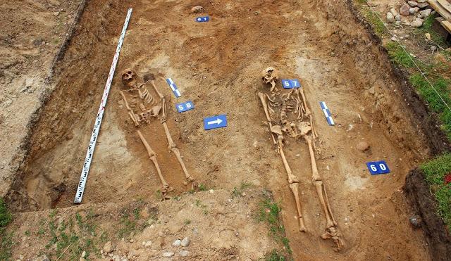 Longshan civilization, Giant Skeleton