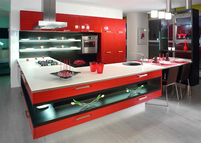 nội thất nhà bếp đẹp - mẫu số 4