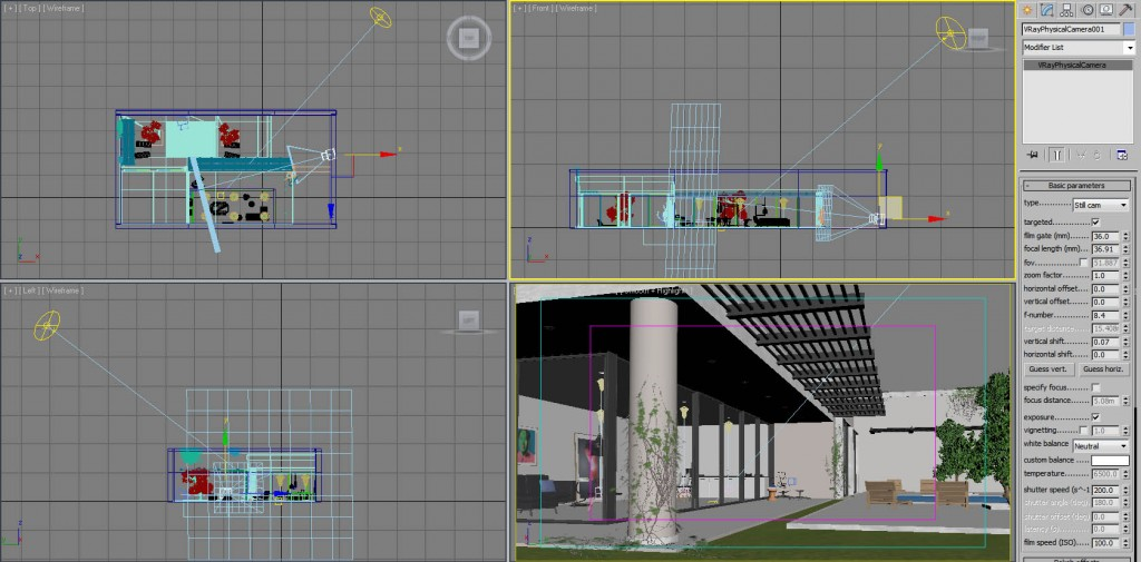 CG [M]arket3d: Making of the house with Vray Sun