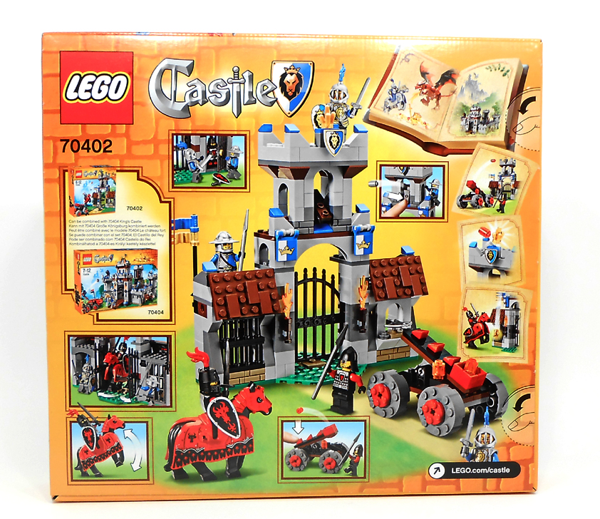 Oz Brick Nation Lego Castle 70402 The Gatehouse Raid Review