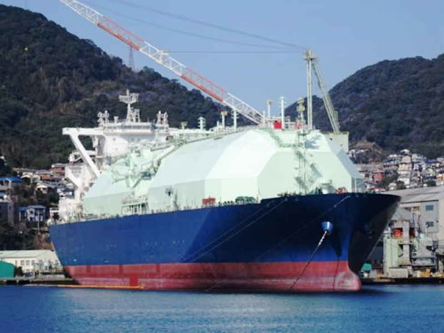 Tanker LNG Ichthys Perdana Inpex dari Australia Tiba di Jepang