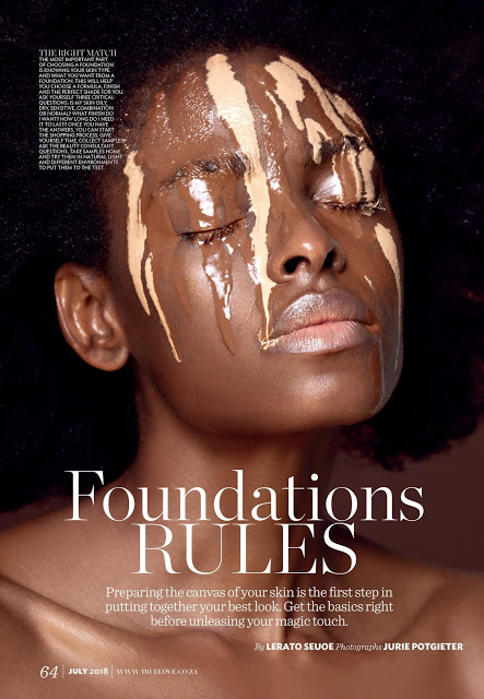 Photos: Top Model, Victoria Michaels Stuns In This Beauty Editorial In True Love Magazine July Issue