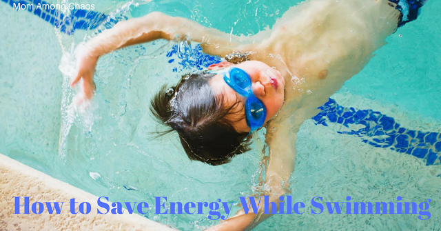 How to save energy while swimming