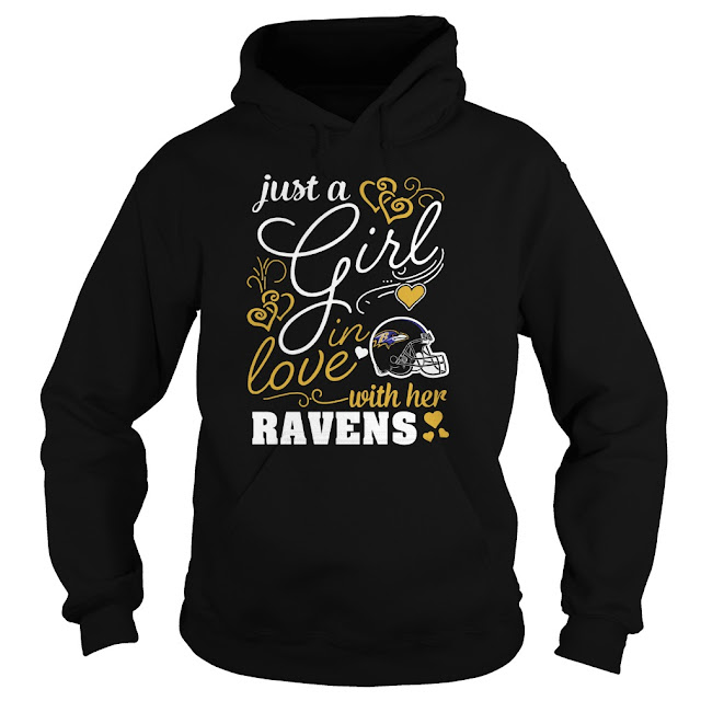 Baltimore Ravens - Just A Girl In Love With Her Shirt