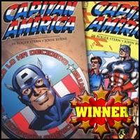 """Ganador del Concurso sobre """"Capitán América 2"""" que organizábamos junto a ComicsBarcelona.com"""