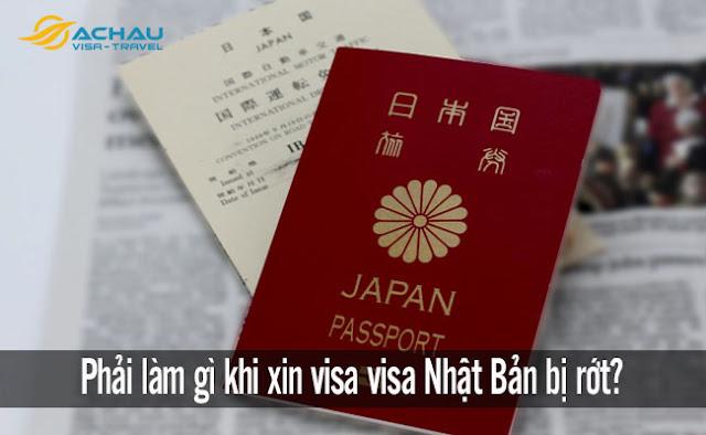 Phải làm gì khi xin visa visa Nhật Bản bị rớt?