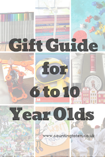 A selection of great gift ideas for 6 to 10 year olds children suitable for Christmas and Birthday
