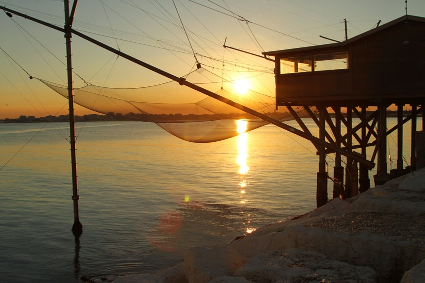 Zimowy spacer w pobliskiej Sottomarina