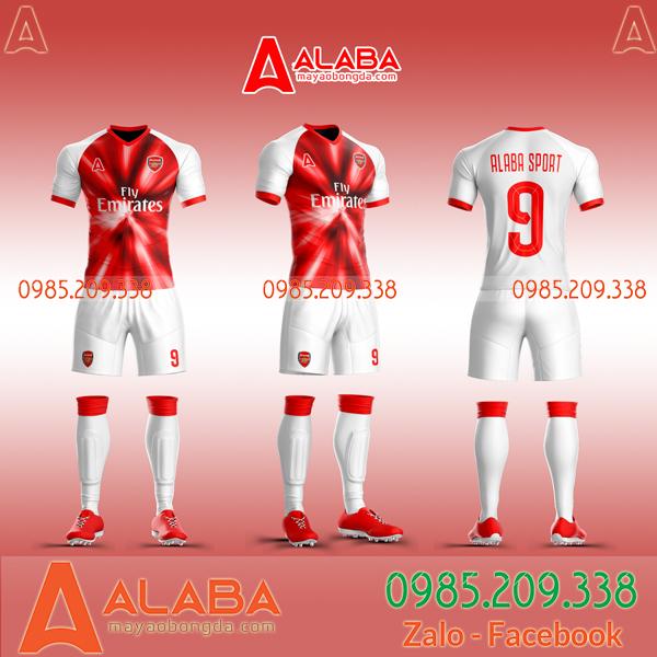 Áo Arsenal xịn tự thiết kế