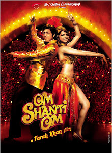 Poster Of Bollywood Movie Om Shanti Om (2009) 300MB Compressed Small Size Pc Movie Free Download worldfree4u.com