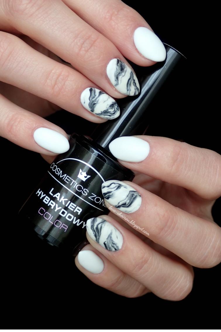 marmurkowe paznokcie krok po kroku