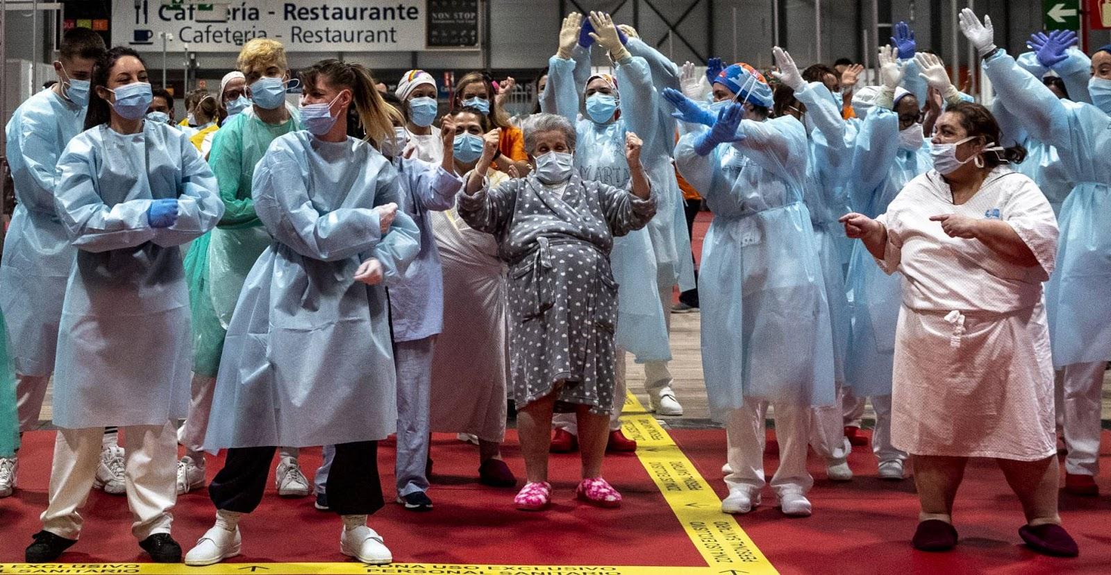 Cierra el mayor hospital de campaña levantado en España durante la pandemia