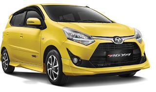 Gambar Toyota Agya Bandung
