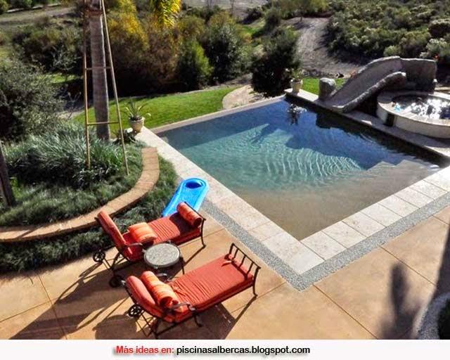 Dise o de piscinas peque as piscinas y albercas fotos for Normativa de diseno de piscinas