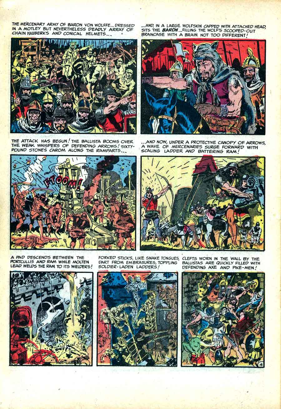 Frontline Combat v1 #13 ec golden age comic book page art by Wally Wood