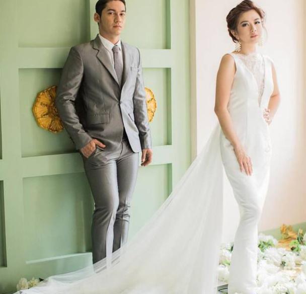 Pose Unik Samuel Zylgwyn dan Franda Usai Resmi Menikah